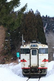 津軽線 普通列車