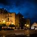 Plaza Principal de Colotlán, Jalisco con la Iglesia de San Luis Obispo. por Jesús Aceves-Loza