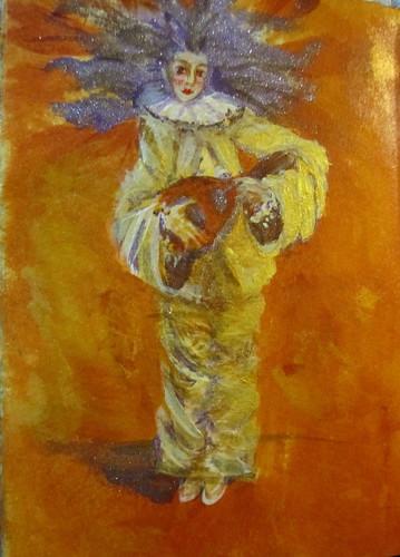 Pierrot with a Mandolin-Journal52 'Sparkle & Shine'