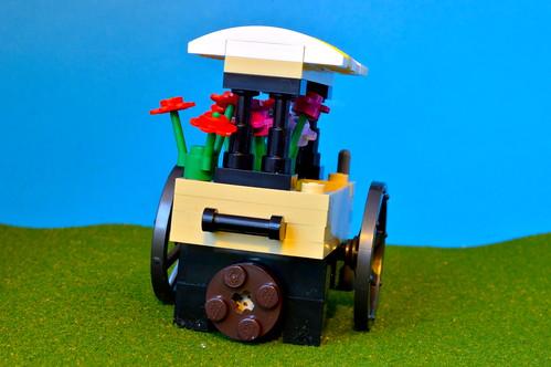 Flower cart 1