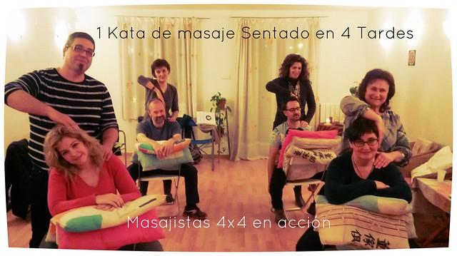 Masaje sentado en 4 Tardes · Centro Anahyana Murcia
