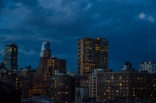 nyc sunset newyork nikon manhattan bluehour westside d5100