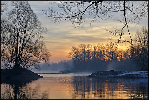 sunrise river ticino alba fiume ngc npc cielo sole colori vigevano mattino autofocus parcodelticino platinumheartaward