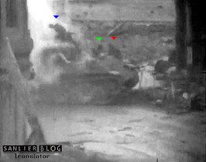 坦克战:活活烧死24