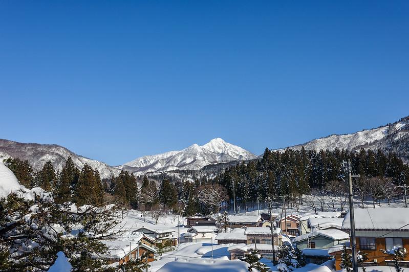 Mt.AMAKAZARI from Oami Kitaotari NAGANO