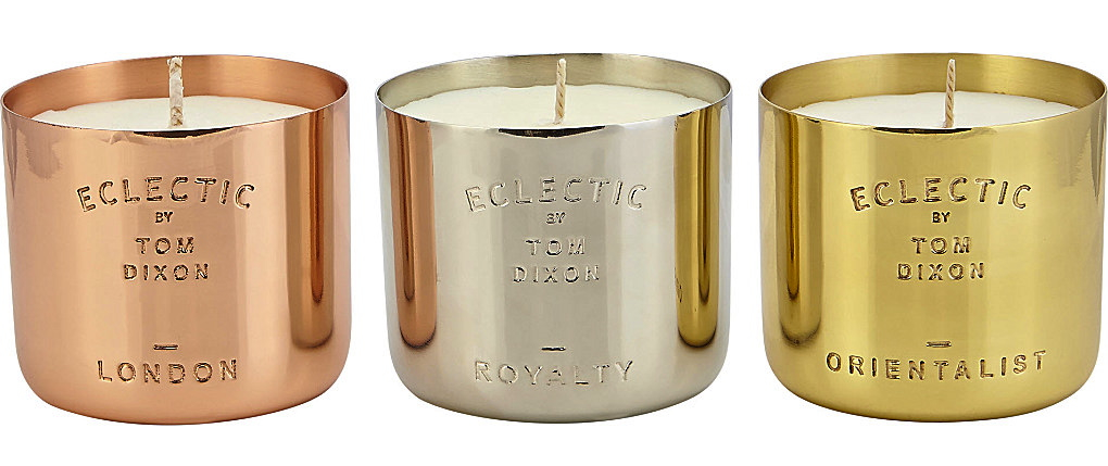 eclectic by tom dixon candle gift set