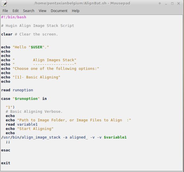 AlignBat.sh the script