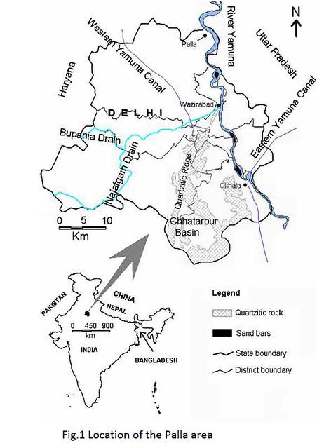 Location of the Palla area
