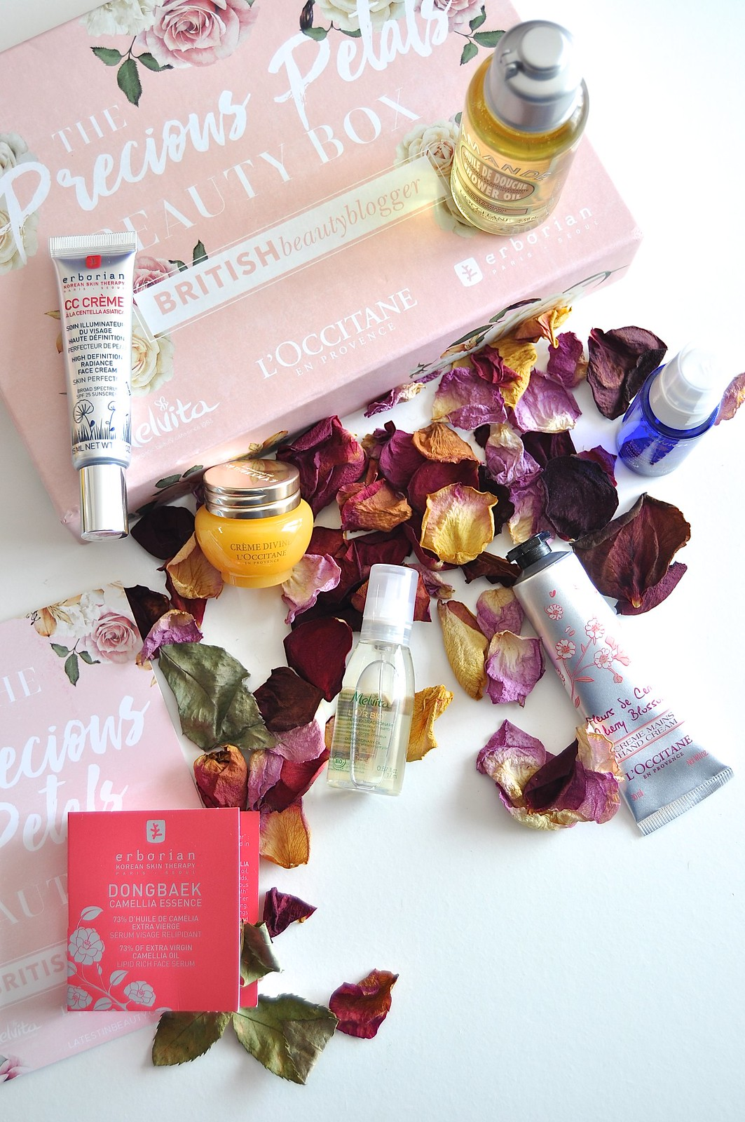 BritBeautyBlogger Precious Petals Box 12