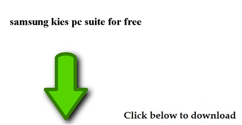 download samsung kies pc suite for free