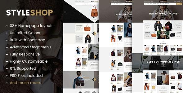 Styleshop v1.0.0 - Premium Responsive Prestashop Theme