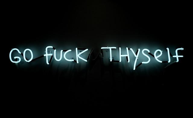 neon - go fuck thyself