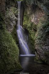 Dyserth Waterfall Long Exposure HDR