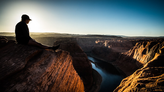 Horseshoe Bend - Page, United States - Color street photography