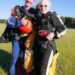 84 Year Old Dodie, Skydives!