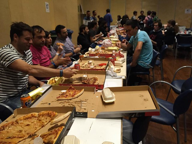 BIME Hack Day 2014 - Pizza moments