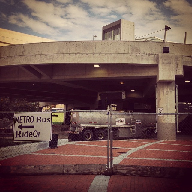 The first thing the new MD governor should do is blow up the crumbling, never-opened Silver Spring Transit Center