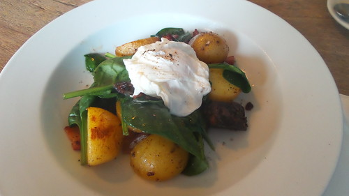 Black Pudding Salad at the Reliance