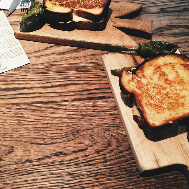 grilled cheese, philly