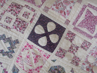All hand quilted