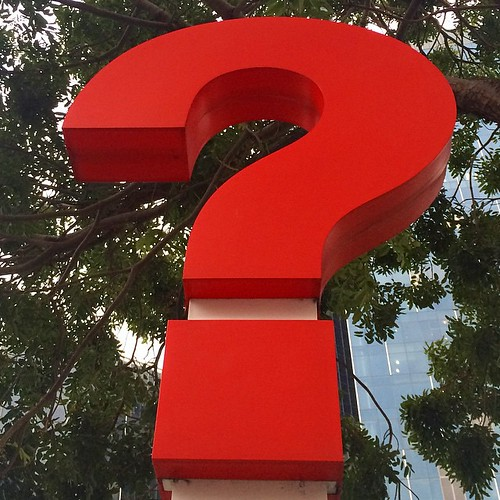 picture of a big red question mark