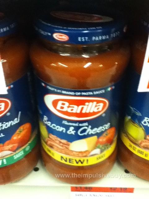 Barilla Bacon & Cheese Pasta Sauce