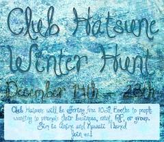 Club Hatsune Winter Hunt
