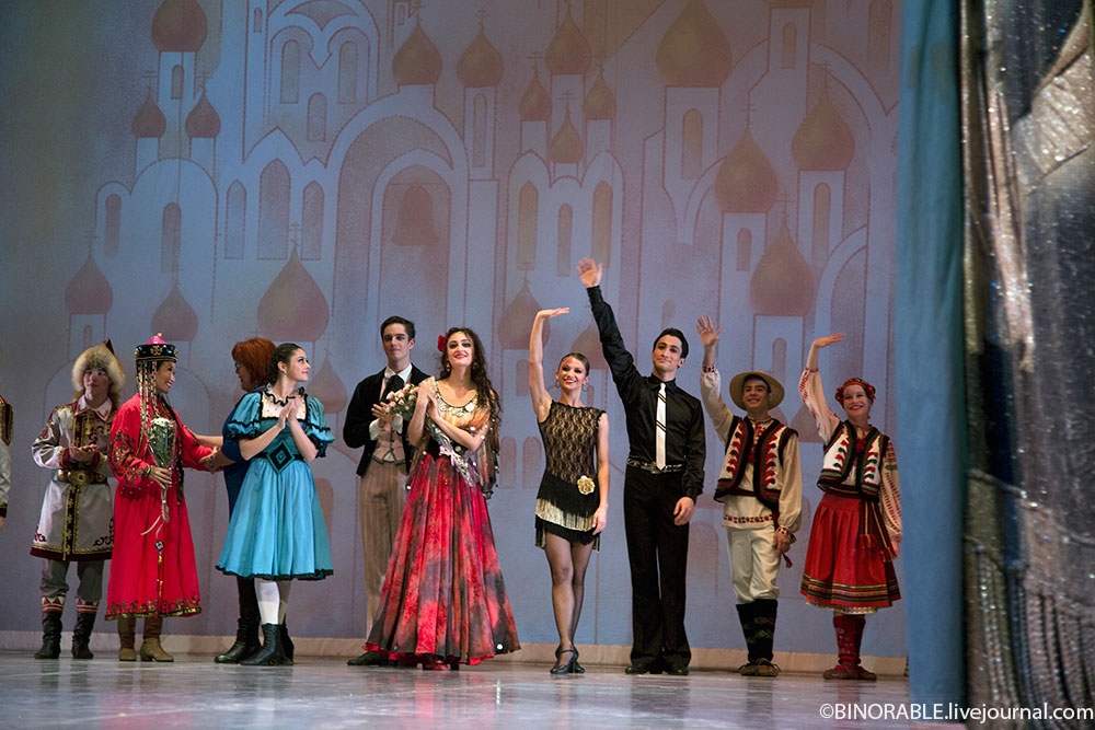 I All-Russia ballet competion in Moscow