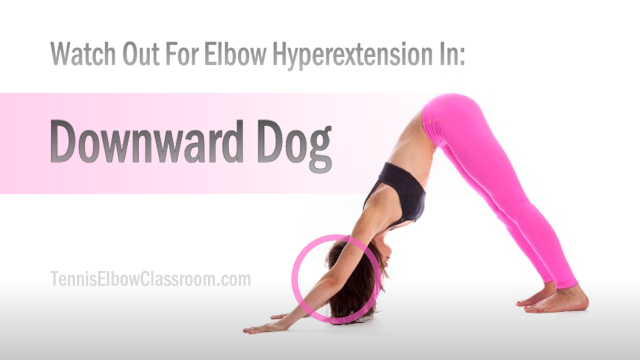 Elbow Hyperextension Downward Dog Pose