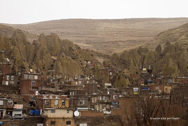 Casas cueva de Kandovan, Iran