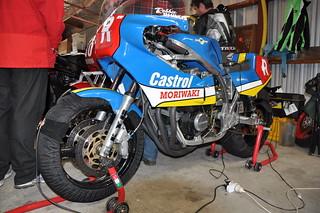 1984 Honda Moriwaki XZ750 #R Rob Phillis (Australia)