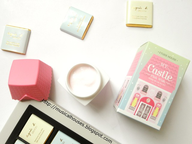 Etude House My Castle Hand Cream Pink Wish Fruity Floral Fragrance