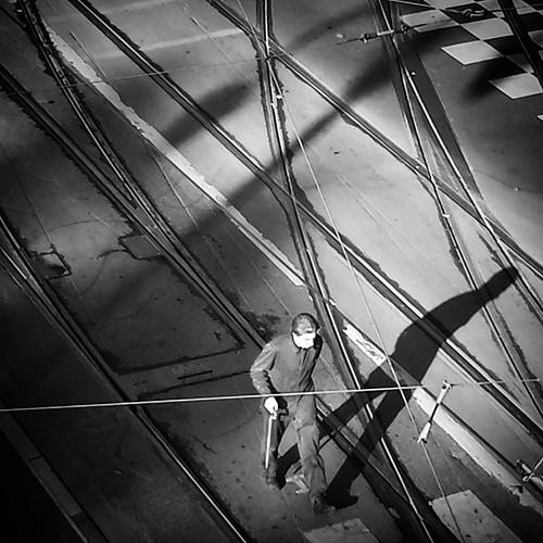 'Eisenbahnknotenpunkthinundherschieber' - #Brussels #Belgium 2014 #tram #Eisenbahnknotenpunkthinundherschieber #photography #stib #mivb