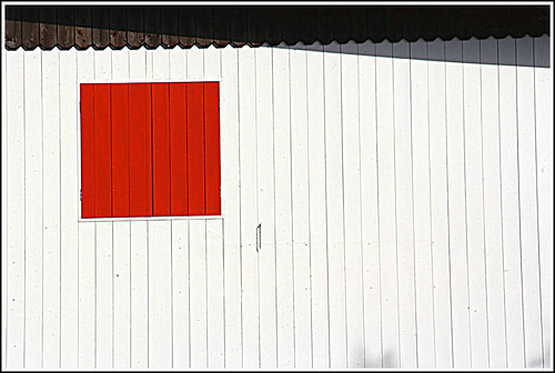 the red window ....closed