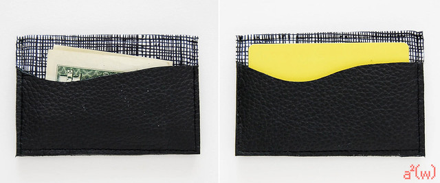 Leather Card Holder by a.squared.w