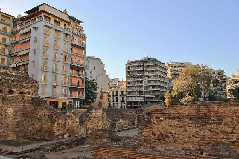 Many layers of Thessaloniki