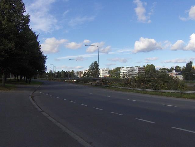 Hämeenlinnan moottoritiekate ja Goodman-kauppakeskus: Työmaatilanne 11.9.2011 - kuva 6