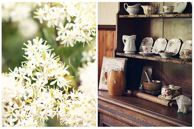 Flowers & Dresser