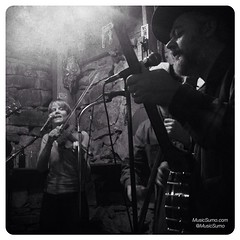 Sarah & Tarantula of The Trespassers @ Hideout Saloon in Mariposa, CA - 11/21/14