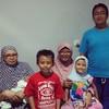 Ala ala foto keluarga santai demi tugas sekolah #vito