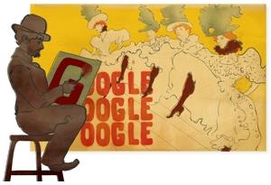 Google Icon | Henri de Toulouse Lautrec's