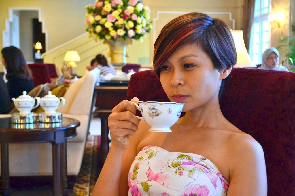 afternoon tea - majestic hotel KL