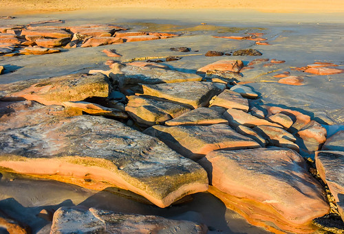 sunset beach rocks patterns australia westernaustralia broome kimberleys