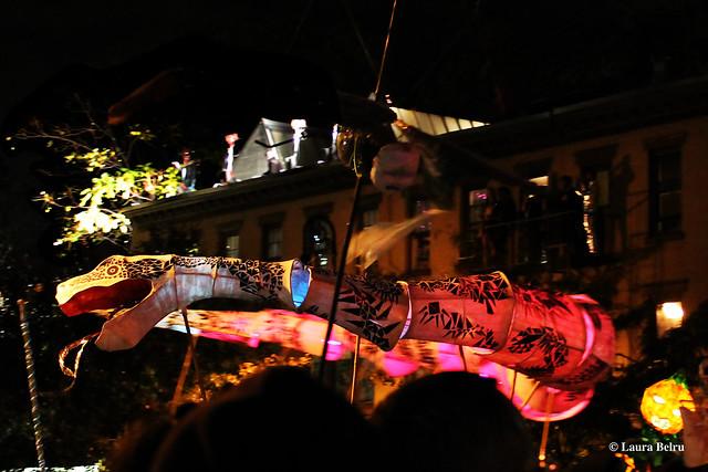 The Village Halloween Parade - Laura Belru