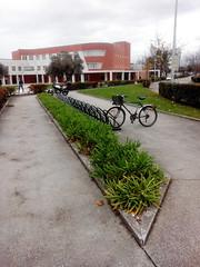 Estacionamento do Deti na UA