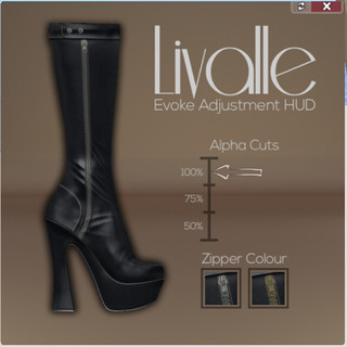 Livalle - Evoke Adjustment Hud