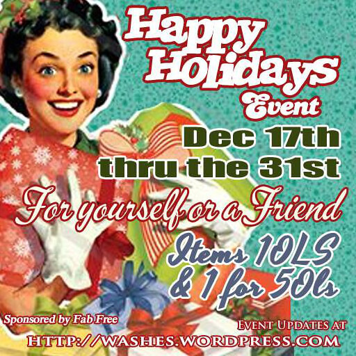 Happy Holiday's Dec 14 Poster ad