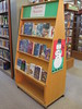 Mistletoe Mysteries display 2014 by BookGuide at LCL