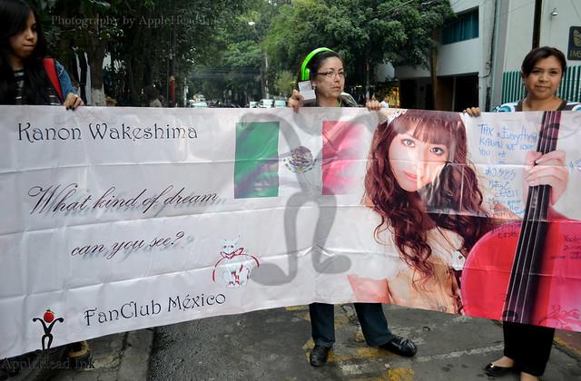 FANS Kanon Wakeshima Mexico City