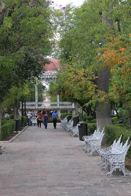 Jardin de San Marcos, Aguascalientes, Mexico.